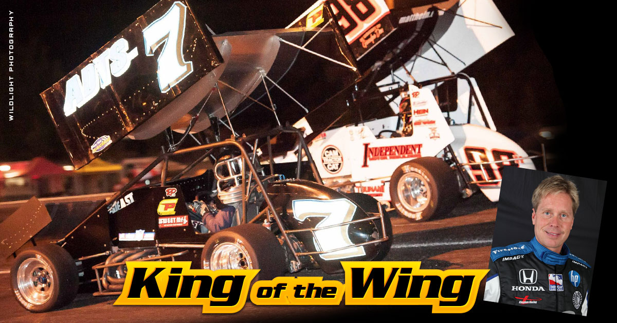 King of the Wing Sprint Cars