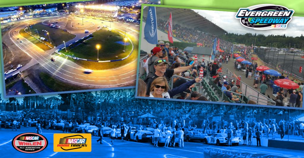 Evergreen Speedway 2016 NASCAR Schedule of Events